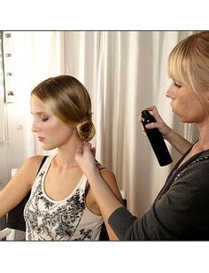 Four Steps To A Perfect Chignon | StyleCaster
