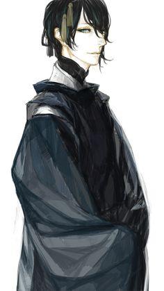 Spiritual Eyes, Boy Art, Touken Ranbu, Art Drawings, Character Design, Pictures, Painting, Pixiv, Game