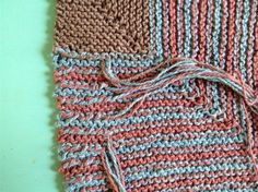 Weaving in ends as you knit: Tips from the Zigzag Tank  Knitting Daily Knitting Techniques