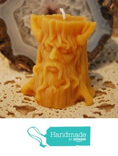 Beeswax Candle Green Man Spirit of the Woods from Peace Blossom Candles http://www.amazon.com/dp/B0183EYB9A/ref=hnd_sw_r_pi_dp_5oehxb07EK3TC #handmadeatamazon