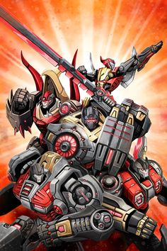 DINOBOTS... and my favourite autobot of all GRIMLOCK!