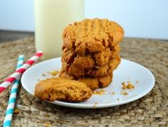 Easy Peanut Butter Cookies.  Used to make these all the time with my Mom when we lived in Alaska. ;o)