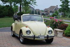 1969 VW Beetle convertible by 63vwdriver, via Flickr