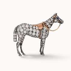 A selection of Antique and Contemporary brooches, made with diamond, emerald, ruby and other precious stones. Styles encompass Art Deco, Vintage and Modern Equestrian Jewelry, Horse Jewelry, Animal Jewelry, Jewelry Art, Antique Jewelry, Vintage Jewelry, Fine Jewelry, Jewelry Design, Fashion Jewelry