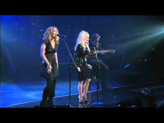 Billy Dean on acoustic guitar with Dolly Parton and alison Krauss singing Kenny rogers' self penned song Sweet music man.