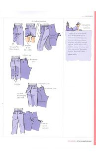 Best Sewing Pants Alterations Trousers Ideas - New Ideas Sewing Class, Sewing Studio, Sewing Basics, Sewing Patterns Free, Sewing Tutorials, Sewing Projects, Sewing Shorts, Sewing Clothes, Sewing Alterations