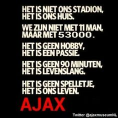 Soccer Quotes, Sport Quotes, Amsterdam Quotes, Afc Ajax, Football Design, 3d Prints, Sports, Random Things, Holland