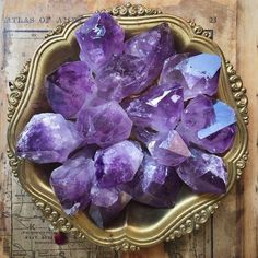 heartcavejewelry:  The sun feels so good this afternoon and I'm spending some time photographing the crystal lot that just arrived. These rough amethyst points will be available in the next update as well as included in some of the altar bundles I'll be putting together. Hope everyone is having a beautiful day! love&light