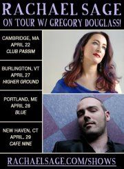 Who's hanging out for a night of great music with Rachael Sage, Gregory Douglass and Monique Citro in Cambridge (Boston) this Sunday, 4/22?  Enter for some free tix: @rachaelsage on Twitter for more info & for your chance to win... https://www.facebook.com/events/252108548208563/