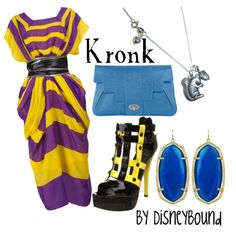 Kronk ~ Emperor's New Groove By DisneyBound Disney Inspired Fashion, Character Inspired Outfits, Disney Fashion, Disney Bound Outfits, Disney Dresses, Disney Clothes, Estilo Disney, Emperors New Groove, Casual Cosplay