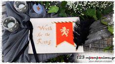 """ΣΤΟΛΙΣΜΟΣ ΓΑΜΟΥ - ΒΑΠΤΙΣΗΣ :: Στολισμός Βάπτισης Θεσσαλονίκη και γύρω Νομούς :: ΣΤΟΛΙΣΜΟΣ ΓΑΜΟΒΑΠΤΙΣΗΣ """"Βασιλιάς Αρθούρος - Ιππότες - Κάμελοτ"""" - ΚΩΔ:KINGS-944"""