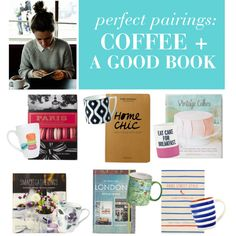 """""""perfect pairings: coffee + good book"""" by lapetitefashionistablog on Polyvore"""
