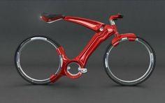 keine Auto aber cool: nabenloses Bicycle Design