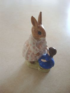 Royal Doulton Bunnykins figurine Dollie by mamasbuttontin on Etsy, $25.00