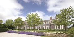 Nantucket, Massachusetts | Ferguson & Shamamlian lavender and wall