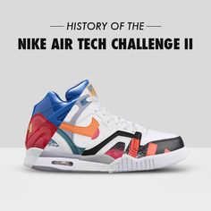 09faf61fad Nike Air Tech Challenge II: The Definitive Guide to Colorways | Sole  Collector