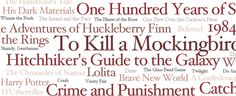 Literary Bucket Lists: 100 Classics You Must Read Before You Die