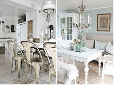 Ideas para decorar con muebles pintados en blanco