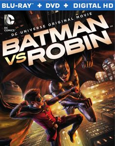 "Coperta si trailer ""Batman vs. Robin"""