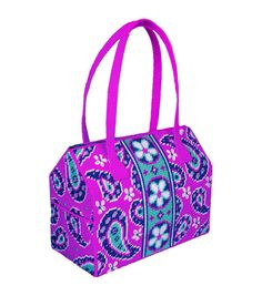 Tobin-Design Works- Paisley Purse Plastic Canvas Kit