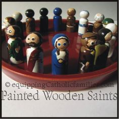 wooden saints