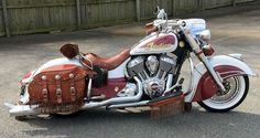 Lowered Indian Chief Vintage Thunderstroke 111
