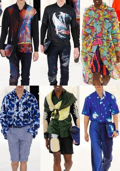 Paris Menswear Print Highlights – Spring/Summer 2015 catwalks Issey Miyake
