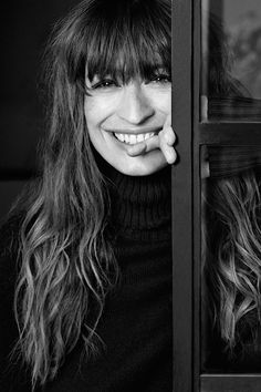 WE LOVE CAROLINE DE MAIGRET She's beautiful, stylish and very, very French, she also has the best advice... embrace your flaws!