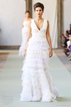 http://weddinginspirasi.com/2011/09/28/luisa-beccaria-spring-2012-ready-to-wear/  luisa beccaria wedding dresses spring 2012  #weddings #weddingdress #ruffledgown #dress #ruffleddress #bridal #wedding