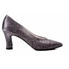 Pre-Owned Silver Canvas Glitter Shoes Size:6.5 (17.065 RUB) ❤ liked on Polyvore featuring shoes, stuart weitzman shoes, silver mid heel shoes, mid-heel shoes, silver shoes and canvas shoes