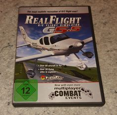 Great Planes RealFlight R/C Simulator G5.5 PC CD (C15B6) #GreatPlanes