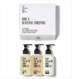 Make her happy this Christmas! Stop the Water While Using Me - 'I Love Your Hair' Kit Natural Shampoo And Conditioner, Nachhaltiges Design, Hair Kit, Travel Hairstyles, Cosmetic Kit, Natural Beauty Remedies, Hair Growth Treatment, Hair Treatments, Natural Honey