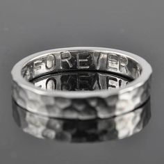 personalized mens wedding band / ring by JubileJewel, $49.00