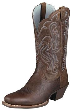 Ariat Legend Brown Rowdy Cowgirl Boots That Are Perfectly Styled