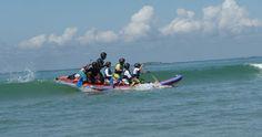 Wave Rafting, Nautik Experience