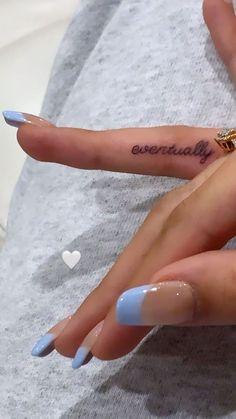 Dainty Tattoos, Mini Tattoos, Small Tattoos, Best Acrylic Nails, Acrylic Nail Designs, Acrylic Nails Light Blue, Nagel Tattoo, Nagellack Design, Tattoo Und Piercing