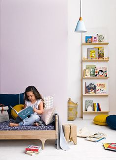 '3 Key Pieces' in a room for a little bookworm. From the March 2015 issue of Inside Out magazine. Styling by Jessica Hanson. Photography by Amanda Prior. Available from newsagents, Zinio, http://www.zinio.com, Google Play, https://play.google.com/store/magazines/details/Inside_Out?id=CAowu8qZAQ, Apple's Newsstand, https://itunes.apple.com/au/app/inside-out/id604734331?mt=8ign-mpt=uo%3D4 and Nook.
