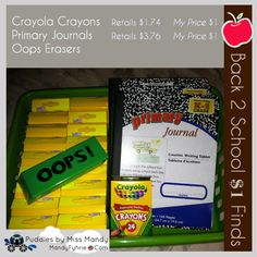 Back 2 School Finds & Shopping Strategies - 58% savings in these deals :)