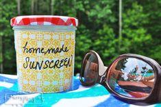 Homemade Sun Lotion – Non-Toxic and Natural