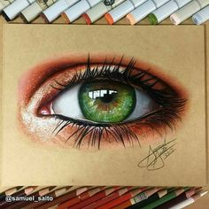 Ideas For Drawing Ideas Pencil Prismacolor Marker Kunst, Marker Art, Prismacolor, Realistic Eye Drawing, Drawing Eyes, Colored Pencil Techniques, Color Pencil Art, Eye Art, Cool Drawings