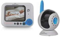 The Easy@Home EHB256 Digital Video Baby Monitor eliminates your worries while you watch your baby on this monitor!