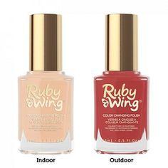 Ruby Wing Sandy Shore Color Changing Nail Polish