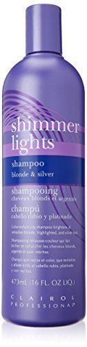 Clairol Shimmer Lights Shampoo, Blond und Silber 473 ml Shimmer Lights Shampoo, Bleach Blonde Hair, Purple Shampoo, Hair Shampoo, Latest Hairstyles, Silver Hair, Vodka Bottle, Hair Beauty, Beauty Book
