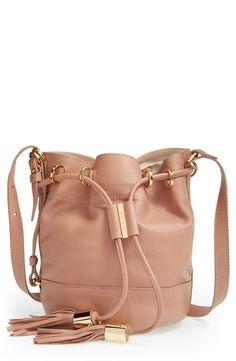 'Small Vicki' Leather Bucket Bag