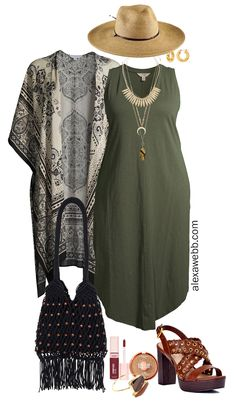 Plus Size Boho Summer Outfits with Walmart