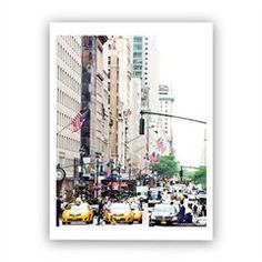 """""""New York Minute"""" Art Print by Annawithlove – 11"""" x 14"""""""