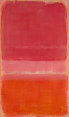 Mark ROTHKO, Untitled (Red) (1956), National Gallery of Victoria, Melbourne.