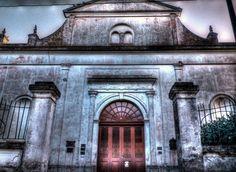 """Fachada de la Iglesia """"Nuestra Señora del Carmen"""" construida en 1900.- Irigoyen."""