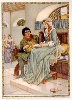 King arthur and guinevere love story