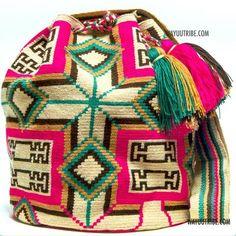 Hermosa Wayuu Bag - MOCHILAS WAYUU BAGS